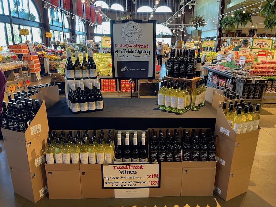 David Frost wines